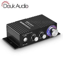 HiFi 100W 2.0 Channel Bluetooth Power Amplifier Stereo Audio Receiver Digital Amp for Home Car Marine USB Music Player IR Remote