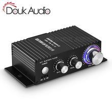 HiFi 100W 2.0 kanal Bluetooth güç amplifikatörü Stereo ses alıcısı dijital Amp ev araba için deniz USB müzik çalar IR uzaktan