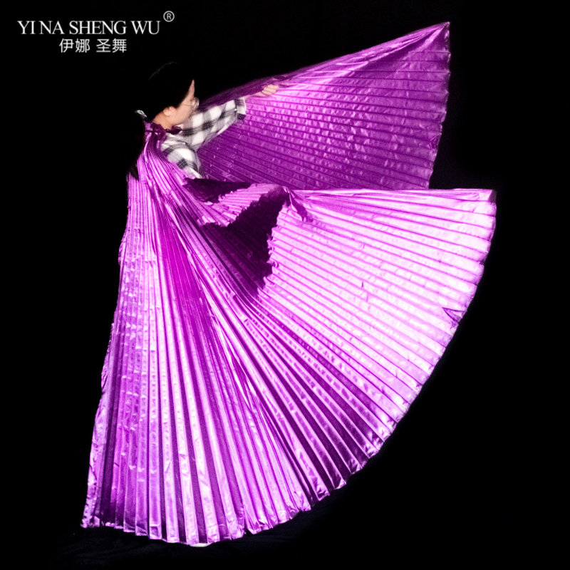 Opening Isis Belly Dance Wing Adult Accessories Wings Oriental Egyptian Dance Performance Without Stick Wings 8 Colors Available