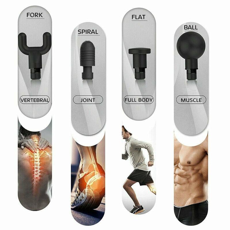 Phoenix A2 Muscle Massage Gun Deep Tissue Massager Therapy Gun Exercising Muscle Pain Relief Weight Loss Expert - 3