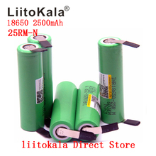 NEUE 1 10 Teile/los Original Liitokala 18650 2500mah batterie INR18650 25RM 20A entladung lithium batterien