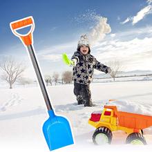 47cm łopata do śniegu dla dzieci idealny rozmiar łopata do piachu dla dzieci wydmy łyżki kopaczki plażowe użycie na zewnątrz promocja tanie tanio Stookits NONE CN (pochodzenie) Wielofunkcyjny łopata i łopata STAINLESS STEEL Shovel Łopata do śniegu