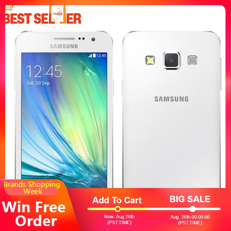 Original Unlocked Samsung Galaxy A3 A300F 4.5 inch Android Quad Core 4G Mobile phone 8.0MP GPS WIFI Samsung A3 Smartphones-in Handys aus Handys & Telekommunikation bei AliExpress - 11.11_Doppel-11Tag der Singles 1