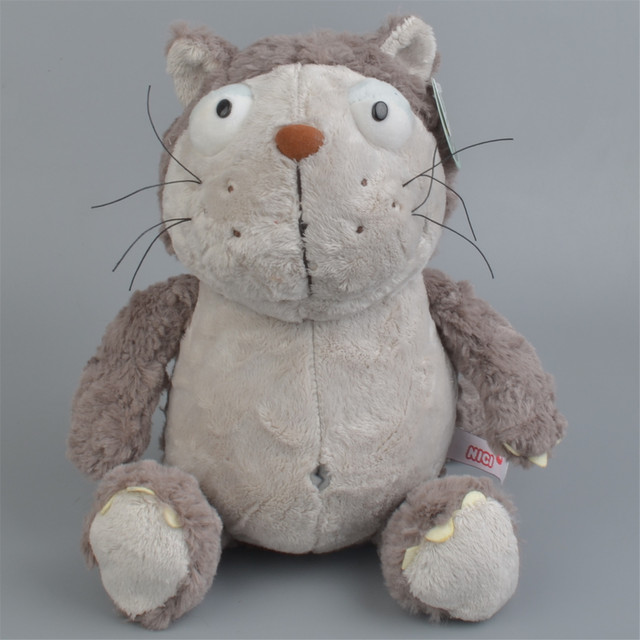 Cartoon cartoon lazy cat doll big face cat cloth doll robot cat plush toy cute cat doll children's birthday present