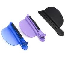 Vente en gros facile/vitesse séparateur Clips couleur bleue 10 pièces/lot Extension de cheveux livraison gratuite