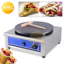 Elektrische 220V 110V Crêpe Maker Pizza Pannenkoek Machine Non-stick Bakplaat Bakken Pan Cake Machine Voor Keuken tool Koken Pan(China)