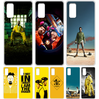 Breaking bad Walter white Phone Case cover hull For SamSung Galaxy S 6 7 8 9 10 20 Edge Plus E Lite 5G Ultra transparent prime image