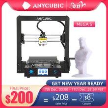 ANYCUBIC Mega S 3Dเครื่องพิมพ์I3 Megaอัพเกรด3Dชุดเครื่องพิมพ์โลหะเต็มรูปแบบTFT Touch Screenความแม่นยำสูงTPUเครื่องพิมพ์impressora 3D