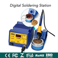 220V 75W 937BD+ Digital LED Automatic Temperature Soldering Station With Large Power Soldering Iron Tool