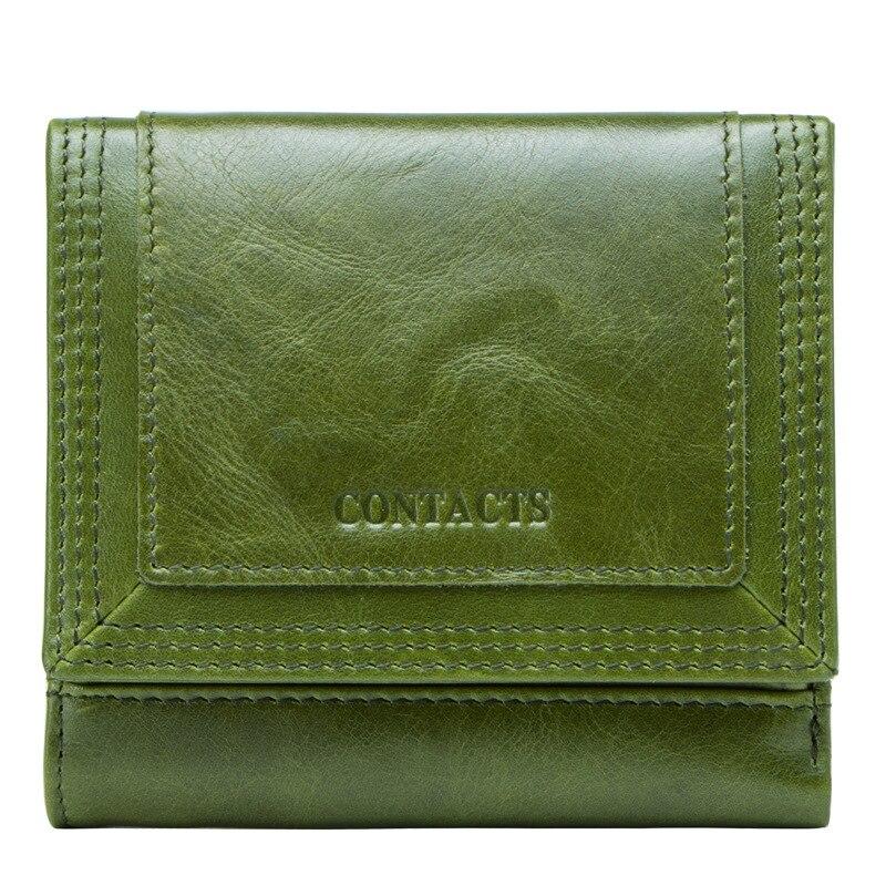 Luxury Wallets Women Korean Version Of The Leather Ladies Wallet Three Fold Short Wallet Purse Ladies Porte Feuille Femme Wallet