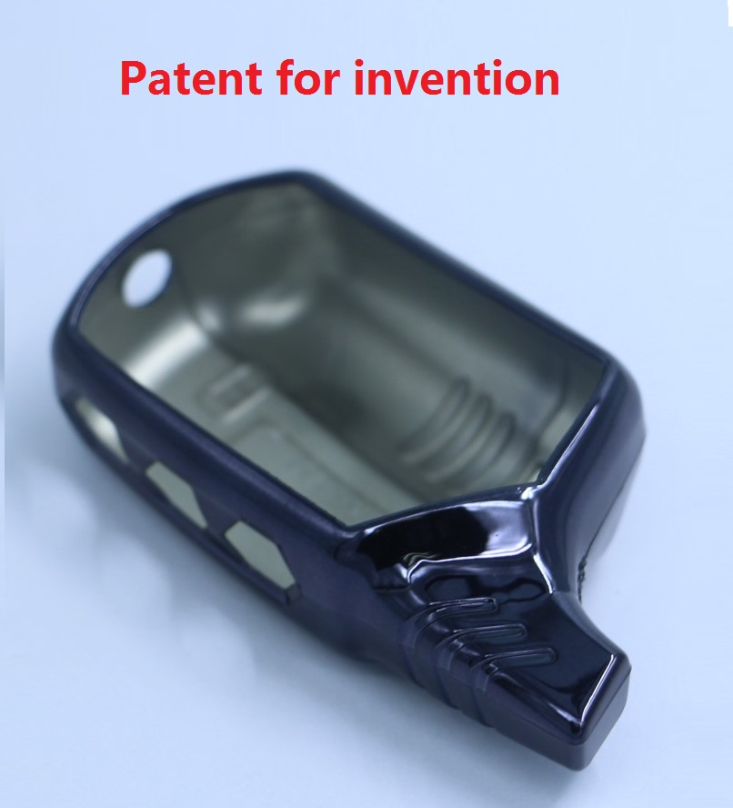 TPU Keychain Trinket A91 Silicone Case For A91 B9 B6 A61 LCD Two Way Remote Control Alarm Case Auto Alarm  Compatible Starline