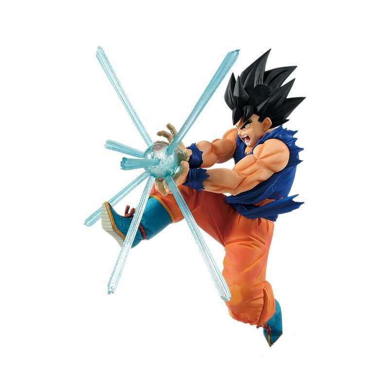 16cm yeni dragon topu Z siyah saç Goku Pvc Action Figure GxMateria özel efektler Dragonball Goku Anime figürü oyuncak