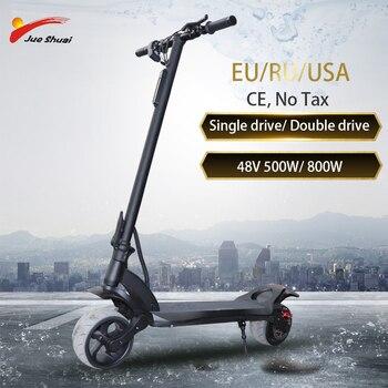 Scooter Eléctrico 48V1000W/1600W con batería de litio de 13AH, patinete plegable, patinete eléctrico adulto