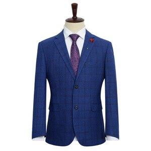 Image 4 - הגעה חדשה אופנה גברים אופנה חליפת מעיל סופר גדול גברים Loose פורמליות גבוהה באיכות בתוספת גודל XL 2XL3XL4XL 5XL 6XL 7XL 8XL 9XL