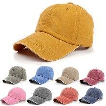 Winter Hat Baseball-Caps Women Snapback Letters Hip-Hop-Hats Patchwork Vintage Denim