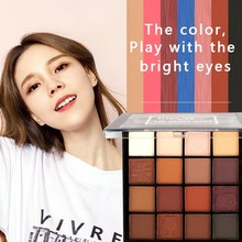 Beauty Glazed New Charming Eyeshadow 16 Color Make up Palette Shimmer Matte Pigments Eye Shadow Powder Nude Cosmetics