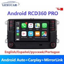 Android Auto Carplay RCD360 PRO NEUE RCD330 187B MIB Radio NONAME Für VW Golf 5 6 Jetta MK5 MK6 Tiguan CC Polo Passat 6RD035187B