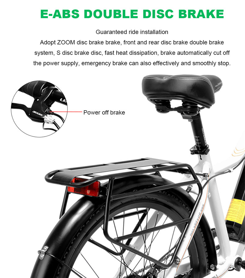 Sale 26inch Electric mountain bike 36V lithium battery travel electric bicycle lighweight Ebike 9