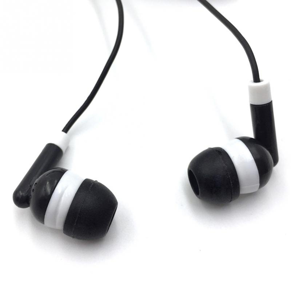 New Fashion Sport Earphone Wholesale Wired Super Bass 3.5mm  5 Colorful Earphone High Quality
