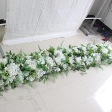 SPR 2 м/1 м Свадебный случай цветок стены сценический фон искусственная настольная дорожка с цветами Арка цветочный декоративный