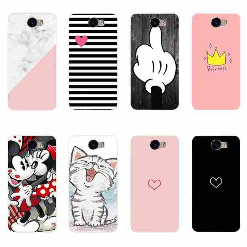 Para Huawei Y5 II Y5II Y5 5A 2 Case For Huawei Honor caso de Telefone TPU Capa de Silicone Para Huawei Honor 5A LYO-L21 CUN-U29 Coque