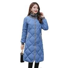 여성 겨울 자켓 코트 Wadded 숙녀 따뜻한 코튼 패딩 아웃웨어 스탠드 칼라 겨울 자켓 여성 코트 파커 Chaqueta Mujer