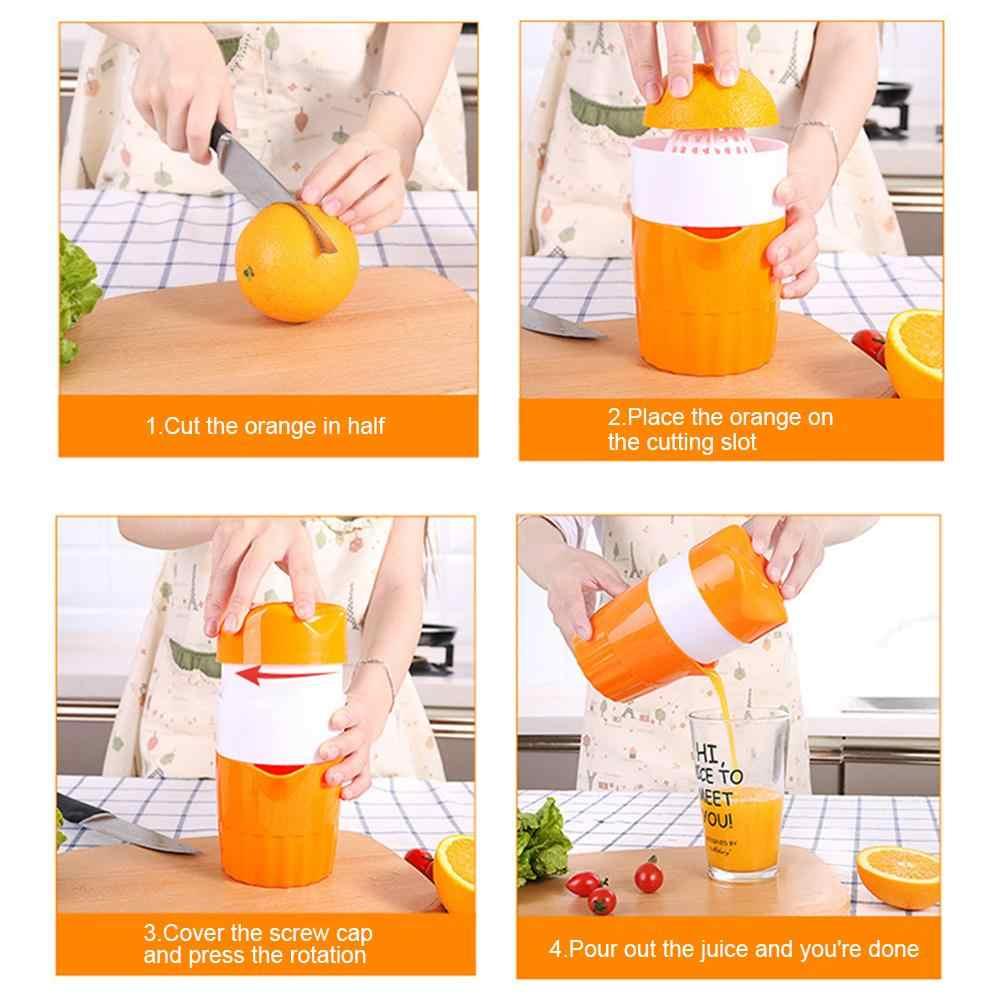 300ml Portable Manual Juicer For Citrus Orange Lemon Fruit Squeezer 100% Original Juice Child Healthy Life Juicer Machine Tools