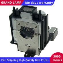 AN K15LP kompatybilna nieosłonięta lampa z obudową do projektorów SHARP XV Z15000/Z15000A/Z15000U/Z17000/Z17000U/Z18000 HAPPY BATE