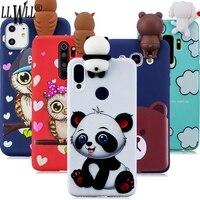 Custodia Panda Cartoon per Xiaomi Redmi 9 8 7 5A 6A 7A 8A 9A Go Redmi Note 10 9 Pro Max 5 6 7 8 T 8 T 9 S 9 S 10S custodia per giocattoli in Silicone