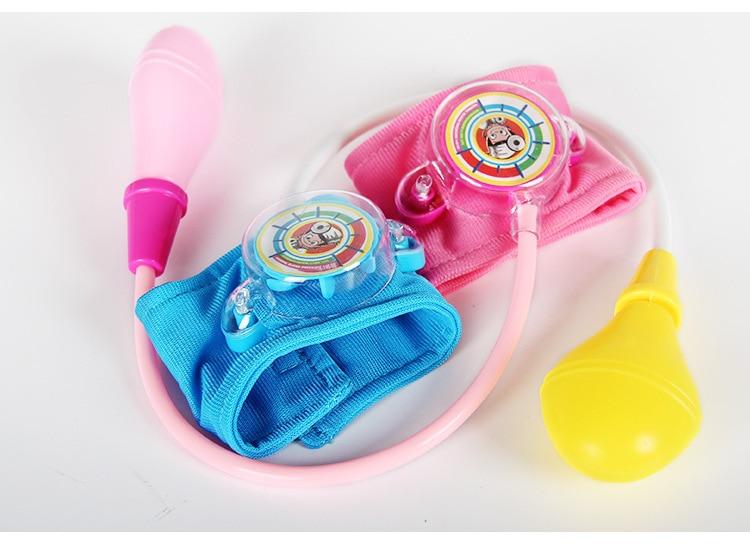 Doctor Blood Pressure Toys Medical 2-4 Years Doctor Kit Toy Kids Doctor Set Speaking At Home Doctor Nurses Kids Pretend Toy