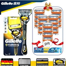 Razor-Blade-Machine Shaving-Blades Manual-Shaver Proshield Gillette Fusion Cassettes