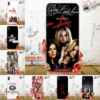 Girls Little Liars Spencer Hannah For Xiaomi Redmi Mi 4 7A 9T K20 CC9 CC9e Note 7 9 Y3 SE Pro Prime Go Play Soft TPU Cases Capa image