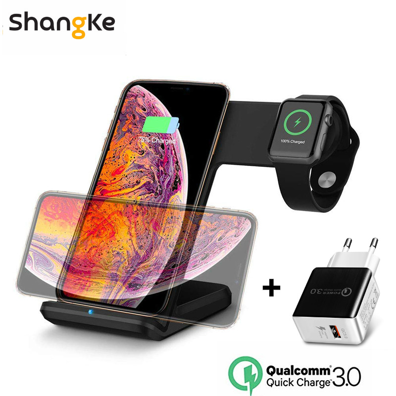 TIMESS Newest Qi Wireless Charger car Cup Holder,10W 7.5W Fast Wireless car Charging Magnetic Mount with USB Type C Port Compatible with iPhone X 8 8Plus//Samsung Galaxy S9//8//7//Note 8 and More