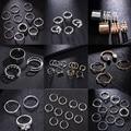 Модный темпераментный перламутровый Регулируемый набор колец, кольцо с хвостом, свадебное кольцо, подарок, новинка 2021, горячая Распродажа
