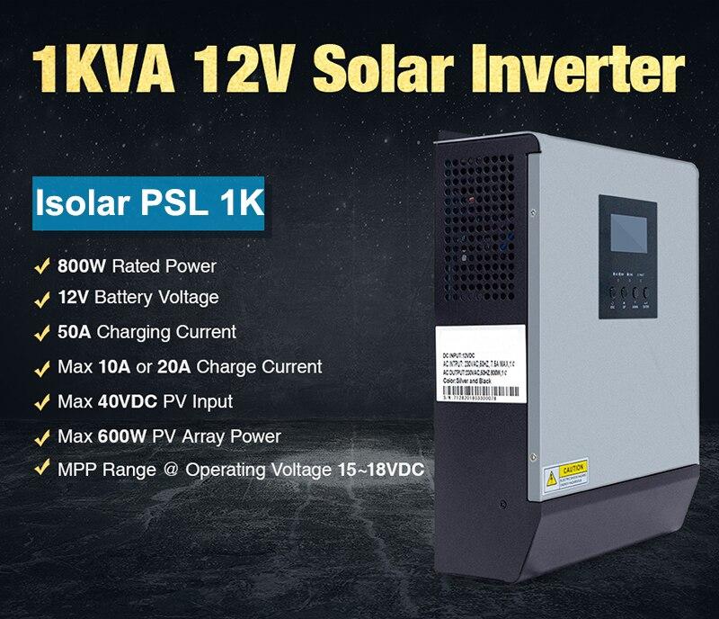 1kw 12v inversor solar onda senoidal pura