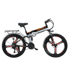 Mountain-Bike Electro-Bike Folding ZPAO 26inch Motor-21-Speed Powerful 350W 48V Aluminum-Alloy-Frame