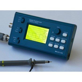 DSO068 20MHz Mini Digital Oscilloscope DIY F Version Kits Digital Screen Electronic Teaching Practice Production Suit