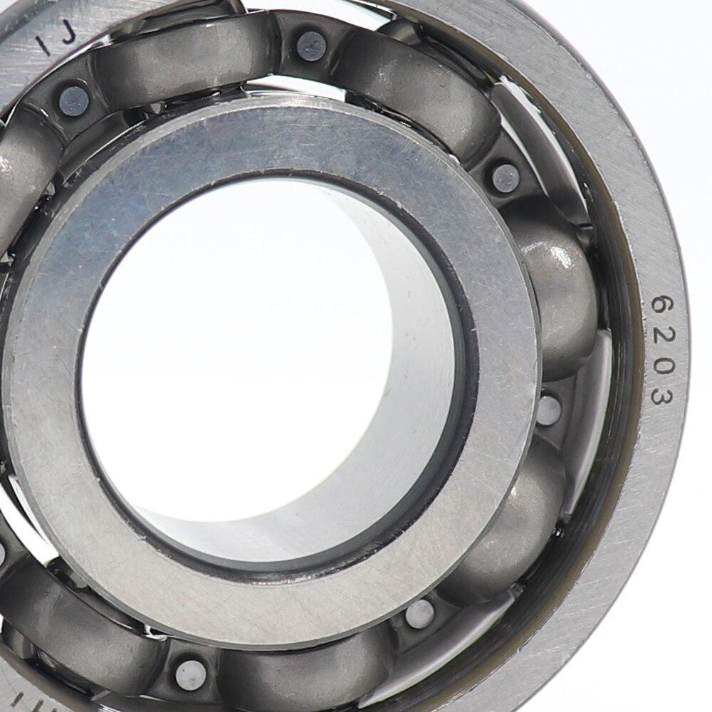 6203 Bearing 17*40*12 Mm ABEC-5 1PC Motorcycle Engine Intermediate Shaft Bearings For Column Izh Jupiter 5 IJ Planeta Sport 350