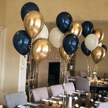5pcs/lot 10/12inch Dark-blue Latex Balloon  christmas decorations for home birthday party adult unicorn