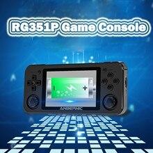RG351P وحدة تحكم بجهاز لعب محمول 3.5 بوصة Ips شاشة المزدوج الروك لينكس نظام Pc قذيفة Ps1 N64 ألعاب 64/128G هدايا للأطفال #3