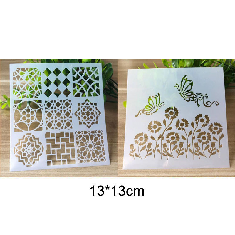 Stencil Bullet Journal For Wall Painting Scrapbooking Stamping Album Decorative Embossing Template Reusable Stencil Creativity