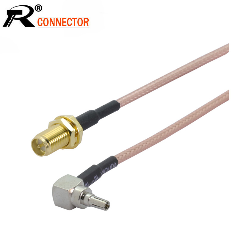 New 30cm SMA Male Plug to Crocodile Alligator Clip Cable RG316 RF Test Cable