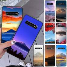 ByLoving Mount Fuji DIY Luxury Phone Case For Samsung S8 S8 Plus S9 S9 Plus S10 S10 plus S10E lite S10-5G S20 UITRA plus(China)