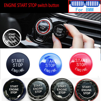 Carbon Car Engine START STOP Switch Button For M Performance BMW E46 E36 E90 E91 E92 E93 E60 E61 E39 E34 E84 E83 E53 E70 E71 E89 image