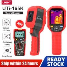 UNI T UTi165K HD אינפרא אדום תרמית Imager מצלמה רצפת חימום גלאי טמפרטורת טווח 10 °C ~ 400 °C 2.8 אינץ TFT מסך