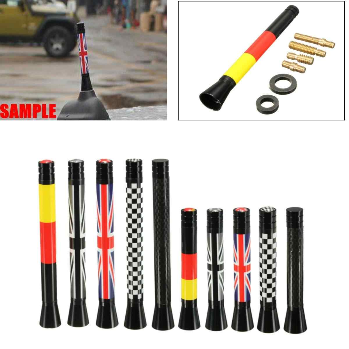 Union Jack Car Roof Radio Aerial fm Antenna Antena for Mini Cooper S JCW R55 R56 R57 R60 F55 F56 Car Styling