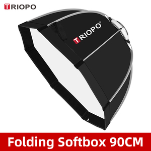 Image 1 - Triopo K90 90cm Photo Bowens Mount Portable Octagon Umbrella Outdoor SoftBox with Carrying Bag for Studio Flash Softbox