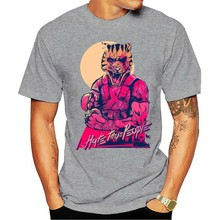 Geek Hotline Miami Men t-shirt Clothing New 2021 Male T Shirt Print Pattern o-neck Casual top-down Shooter Video Game Teeshirt