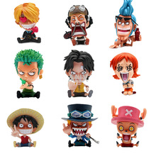 one piece dxf usopp the grandline men 15th edition vol 2 figure japan anime collectible mascot kid toys 100% original 8-10CM One Piece Figure Luffy Zoro Sabo Ace Nami Usopp Sanji Chopper PVC Action Anime Collection Toys For Children Gifts