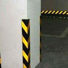 Прочная качественная черная и желтая самоклеящаяся Предупреждение ленточная маркировка безопасности мягкая ПВХ лента